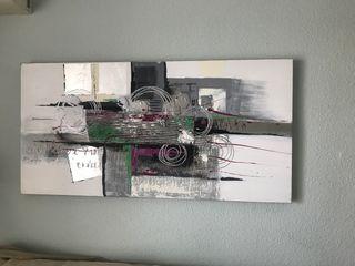 Cuadro abstracto precioso