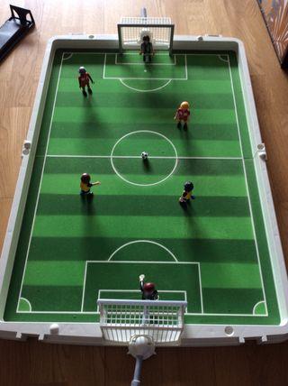 Campo de fútbol de Playmobil