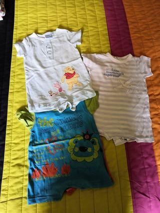 Lote de Pijamas verano 3 meses niño