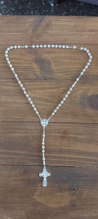 rosario de plata
