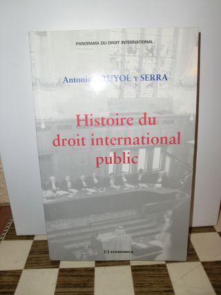 TRUYOL y SERRA Histoire du droit international