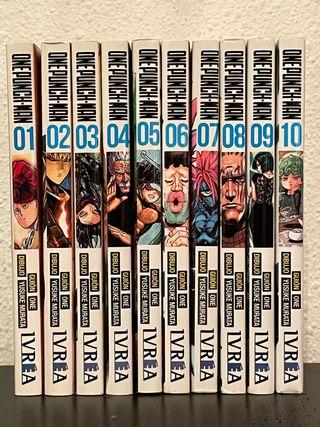 mangas One Punch Man 1 - 10 español