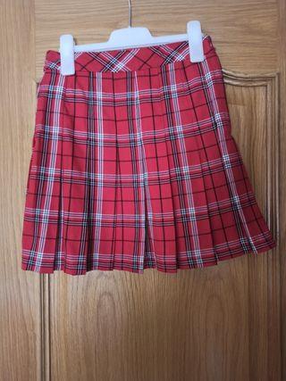 Falda escocesa de tablas