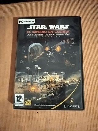 juego PC dvd-rom Star wars