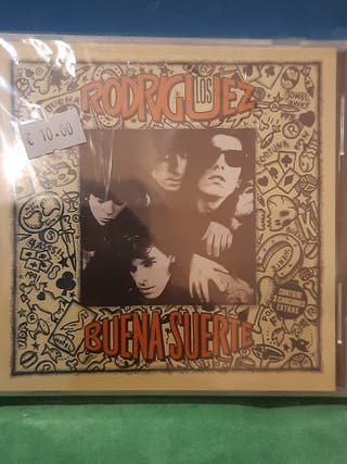 """CD """"Buena Suerte"""" de Los Rodriguez"""