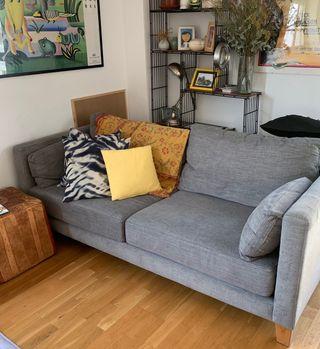 Sofá 200 cm gris
