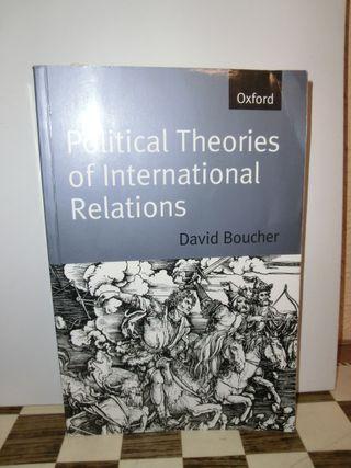 Boucher Political Theories of International Rela
