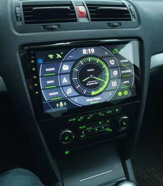 Radio pantalla gps android Skoda Octavia 2