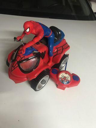 Quad spiderman teledirigido