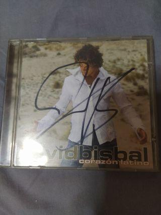 CD David Bisbal firmado