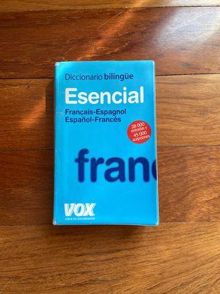 Diccionario bilingüe esencial francés - español