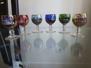 Copas cristal recuerdo de aroma