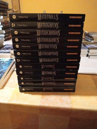 novelas warhammer gotrek y felix.