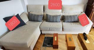 Sofá 4 plazas con chaise longe - marca Caminoacasa