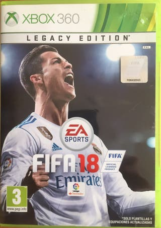 FIFA 18 Legacy edition para Xbox 360
