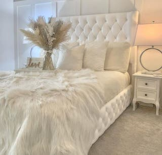 Wingback Bed For Sale!!!!