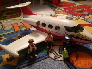 Playmobil 6081 avión de viaje.
