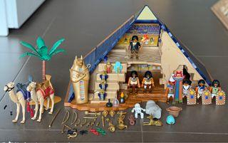 Piramide playmobil y esfinge