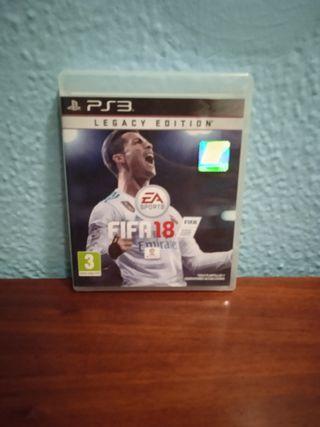 vendo juego de FIFA 18 para ps3