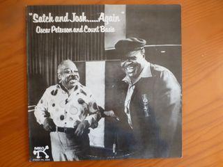 "disco de vinilo ""Oscar Peterson and Count Basie"""