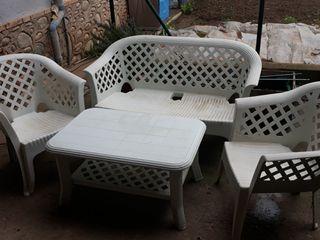 Conjunto muebles jardín