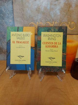 Lote libros clásicos Bueno Vallejo,Irving