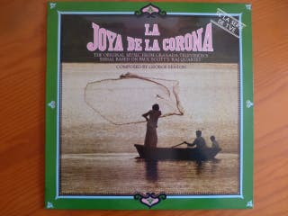 """Disco de vinilo """"La joya de la corona"""""""