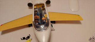 avion pasajeros playmobil