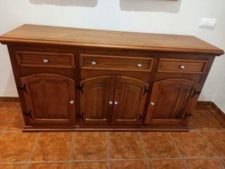 Aparador rustico madera