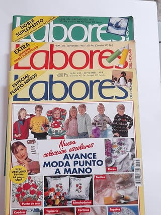 Revistas labores