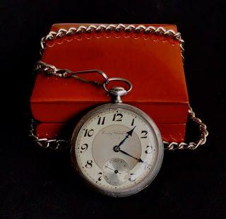 Reloj de bolsillo antiguo de plata 800/1000