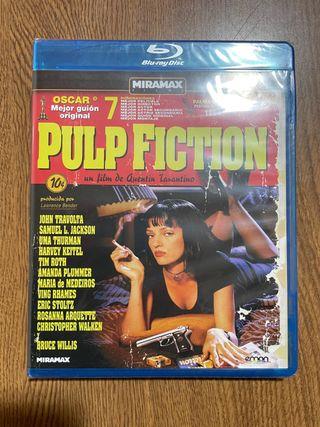 Pulp Fiction blu ray precintado.