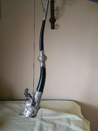 Trompeta Tibetana 55 cms largo