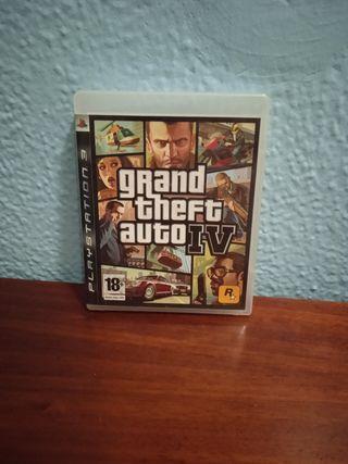 vendo juego de GTA 4 para ps3