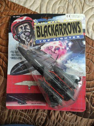 Avión vintage Black Arrow.