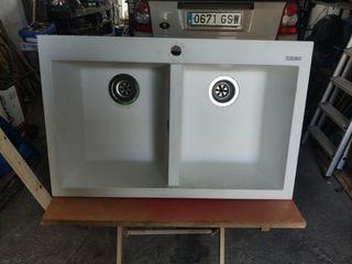 vendo lavabo fregadero de 2 senos