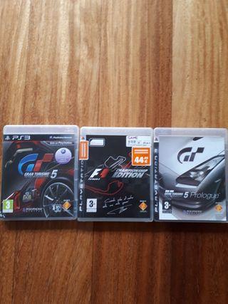 3 juegos Play 3