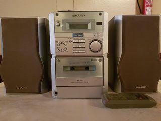 "Microcadena ""Sharp XL-30 Hi-Fi Micro System"""
