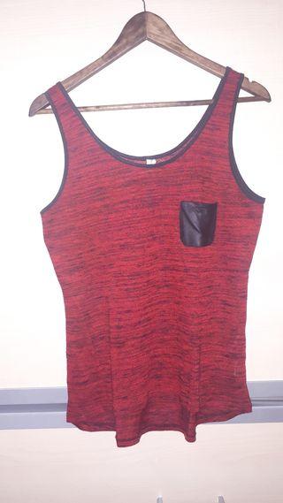 camiseta tirantes anchos KIABI
