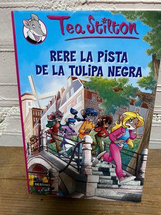 """Llibre """"Rere la pista de la tulipa negra"""" català"""
