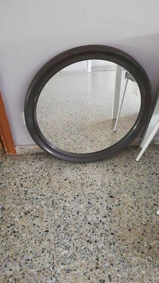 Espejo redondo 80cm para pared
