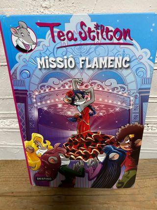 """Llibre """"Missió flamenc"""" Tea Stilton català"""