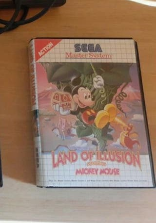 land of illusion Master System