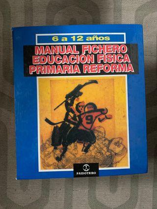 Libro manual fichero educación física primaria