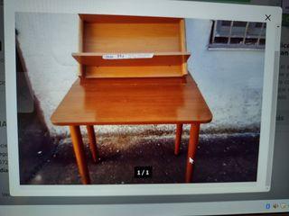 mesa de cocina de madera maziza de pino