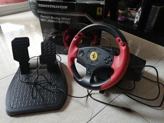 volante con pedales para play 3 y pc