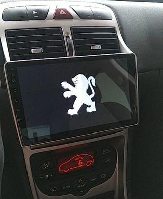 Radio pantalla navegador gps android Peugeot 307