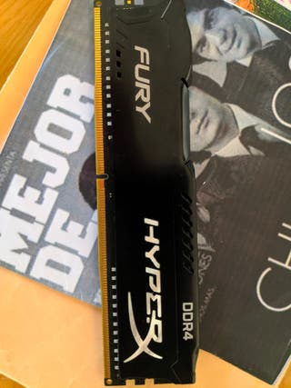 Memoria RAM 8gb ddr4 2666mhz Kingston fury hyperx