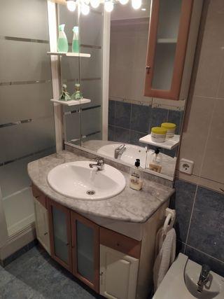 Armario baño y espejo