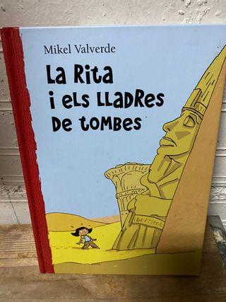 """Llibre """"La Rita i els lladres de tombes"""" en català"""